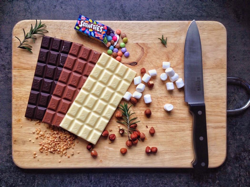 selbstgemachte schokolade dieblogschokolade