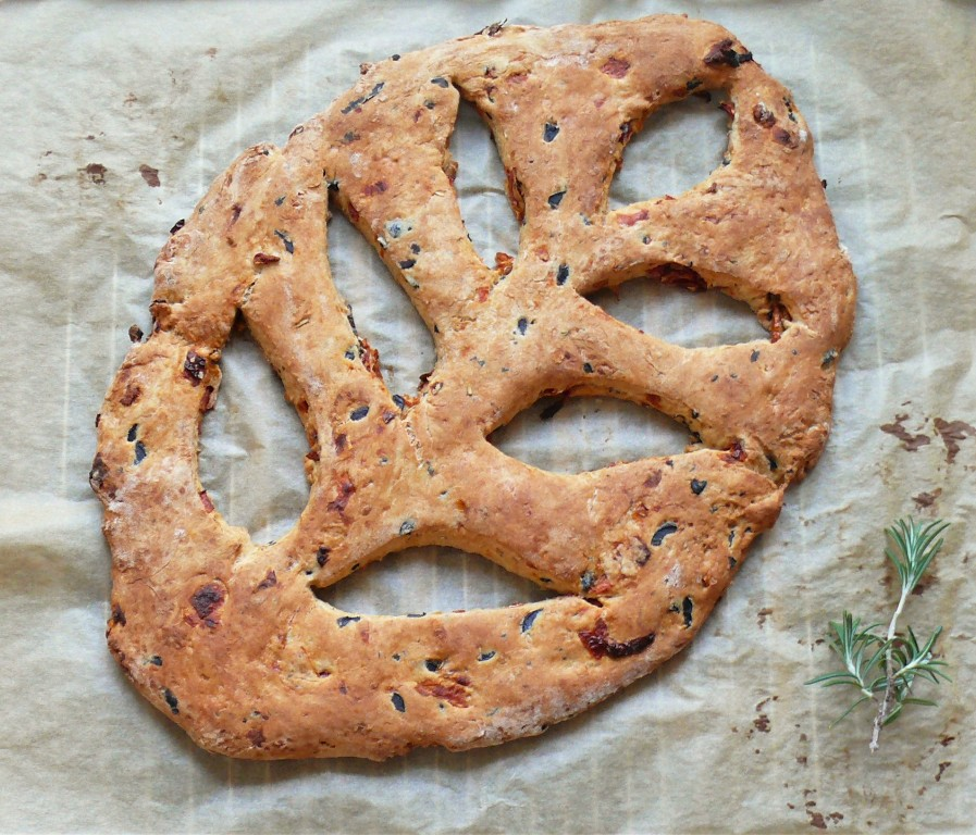fougasse recipe, DIY